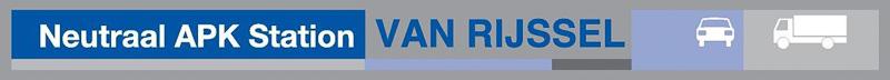 Neutraal APK-station van Rijssel Logo